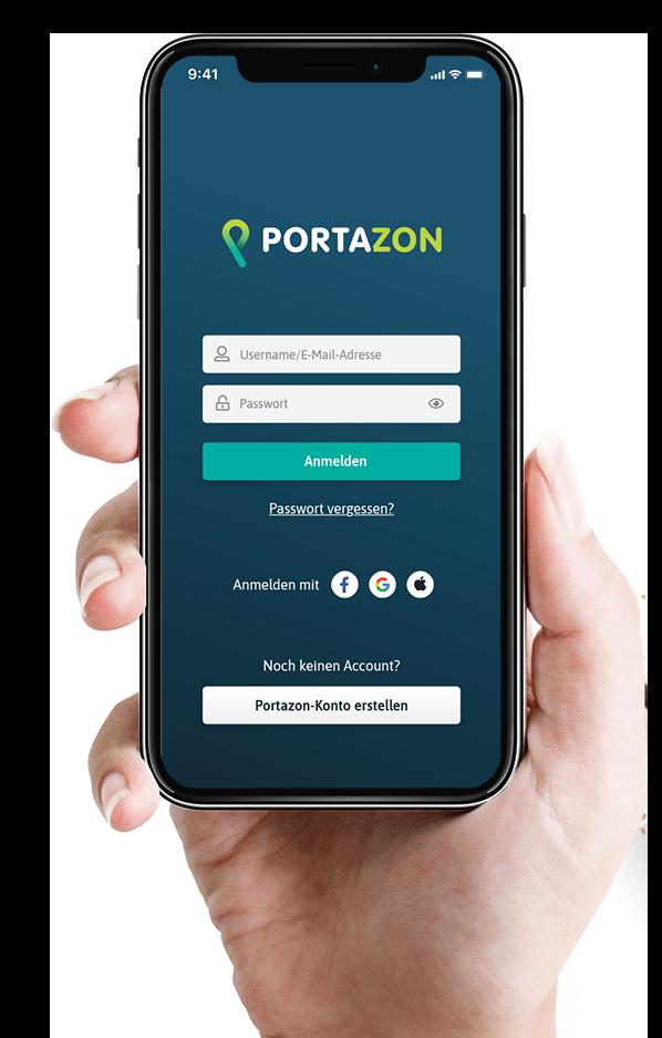 PORTAZON Start Screen